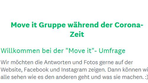 Hallo liebe Move it – Teilnehmer*innen