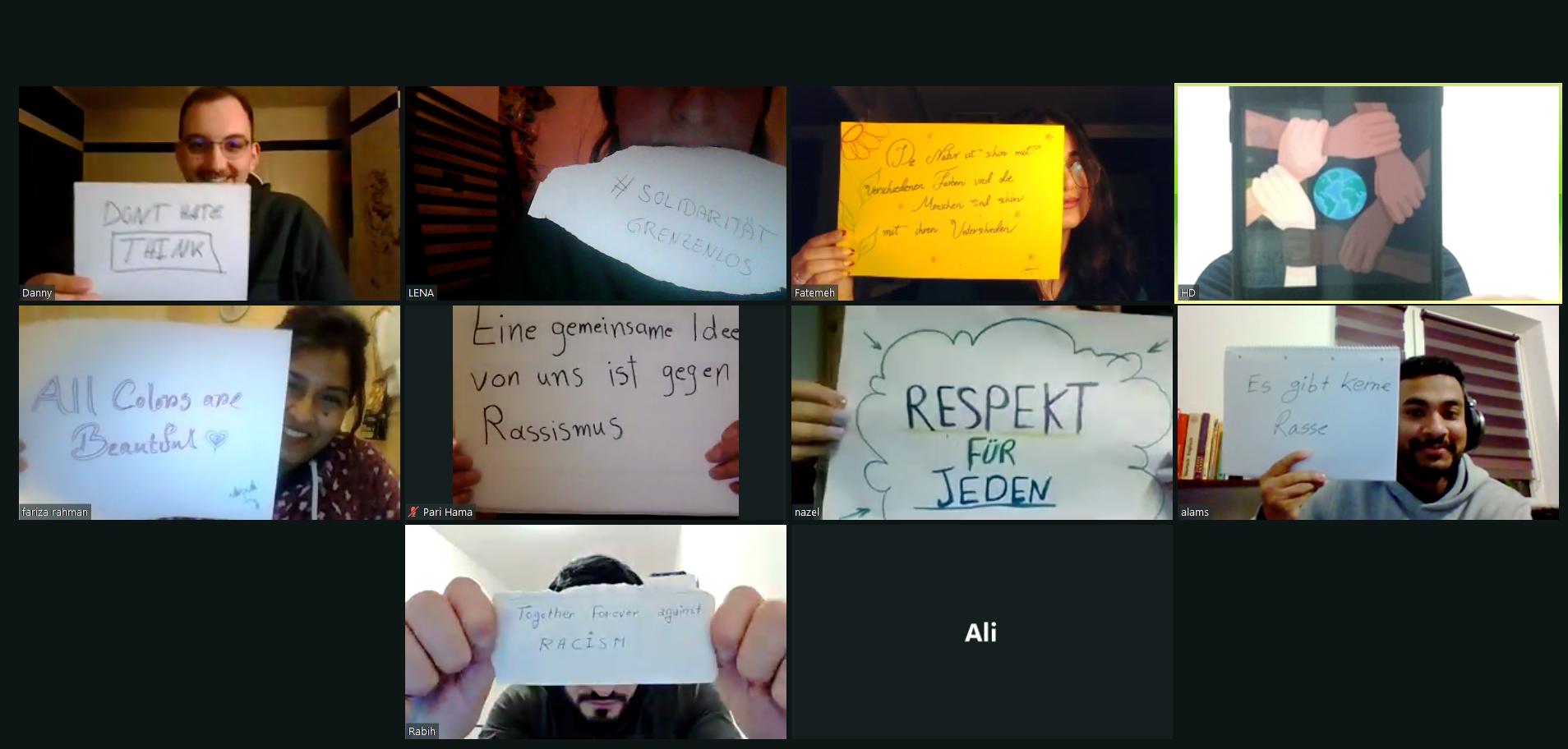 *Move it digital*: Bildbearbeitung für Anti-Rassismus-Kampagne