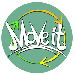 "Das ""Move it"" Logo."