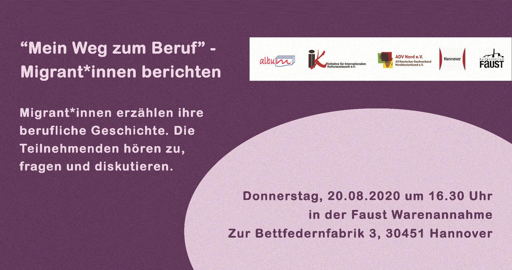"""Workshop """"Mein Weg zum Beruf"""""""